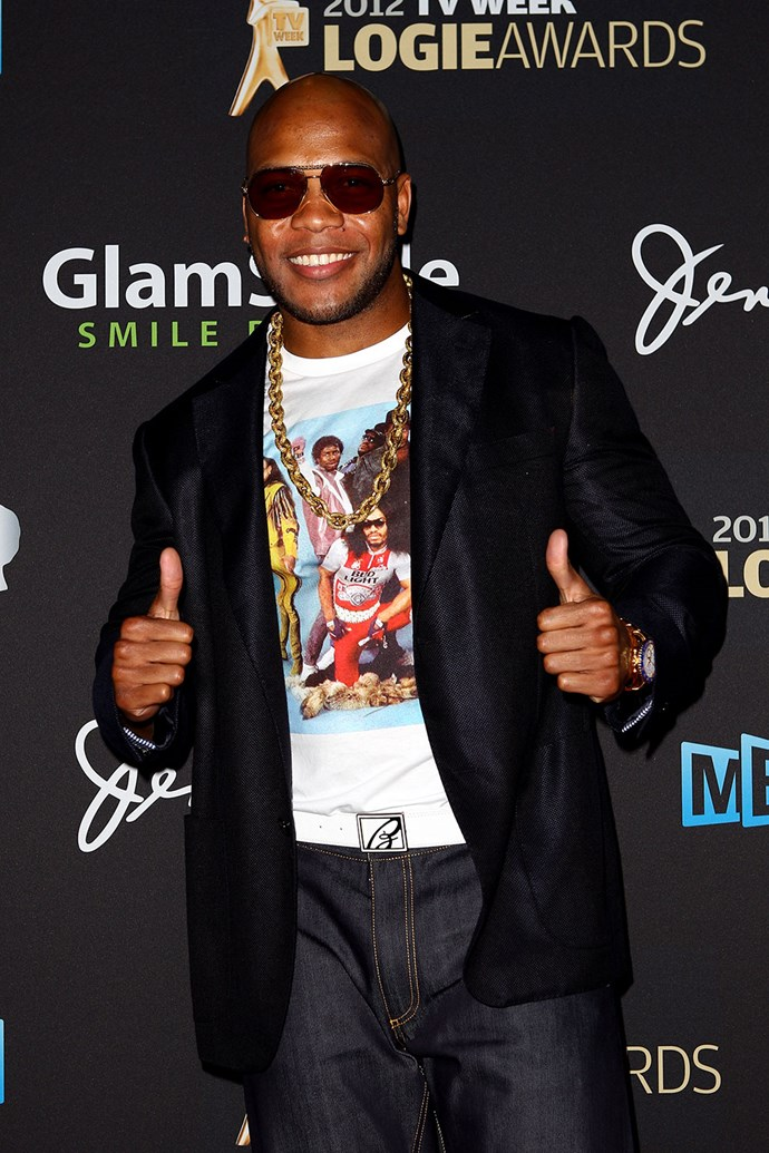 It wouldn't be the 2012 Logies without **Flo Rida**.