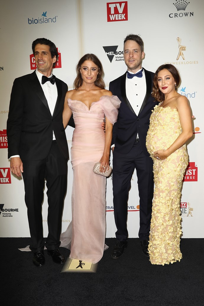 Andy Lee, Rebecca Harding, Hamish and Zoë Foster Blake