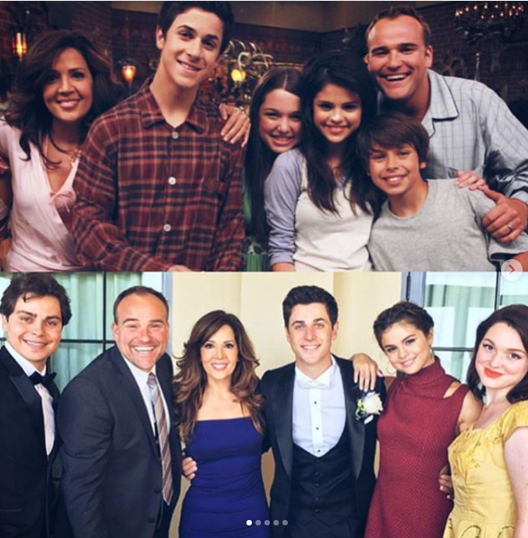 "**Wizards of Waverly Place**  Sel proved the cast of *Wizards of Waverly Place* are still BFFs, posting an adorbs reunion photo on Insta from former co-star David Henrie's wedding. She captioned the sweet snap, ""Very much in my feelings about my big brother getting married. Even though we for sure knew it would be him first. May God bless you and your beautiful wife Henrie! 💕""  Cute!"