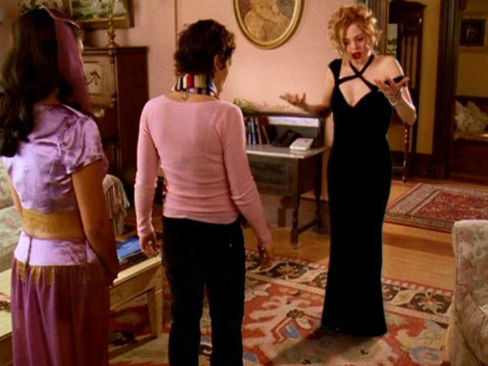 Only in the 2000s could this be considered a legit fancy outfit.