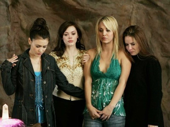 Ooo and remember when Kaley Cuoco played Billie Jenkins?? Never forget.