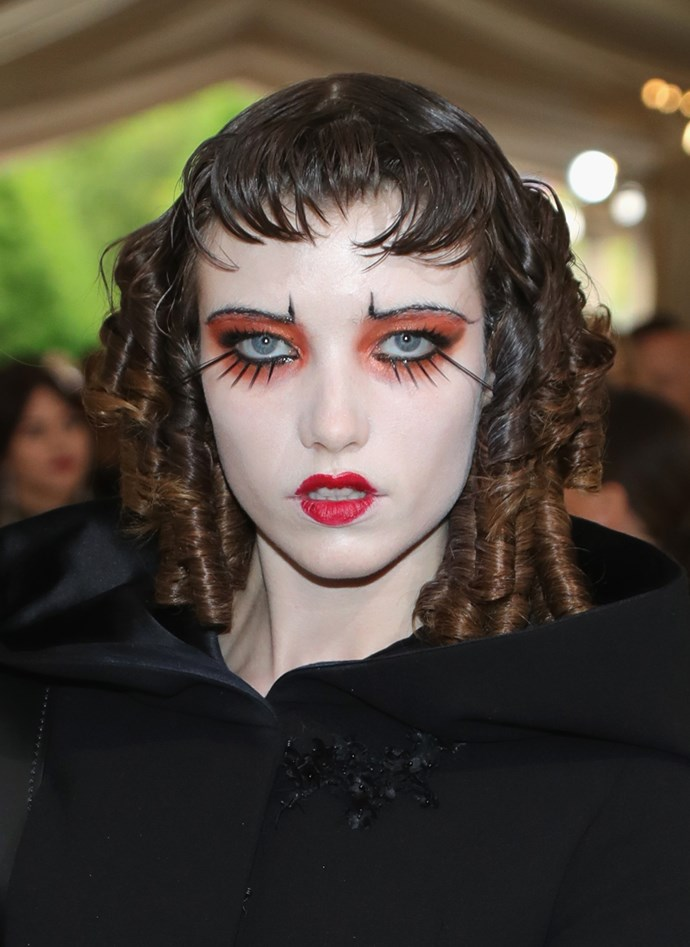 Who is Grace Hartzel, how did she get an invitation to the Met Ball and WTF is on her face?