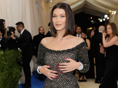 Bella Hadid's mind-boggling 2017 Met Gala situation from every angle