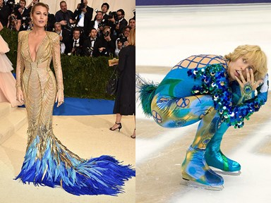 Things celebrities look like at the 2017 Met Gala