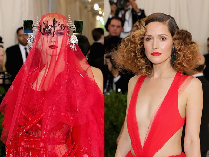 The most out-there beauty looks from the Met Gala