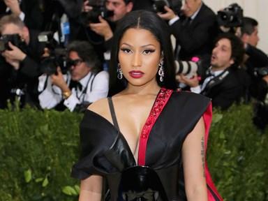 Nicki Minaj lived her best fangirl life at the Met Gala