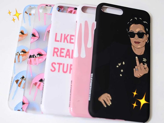 Kylie Jenner phone cases