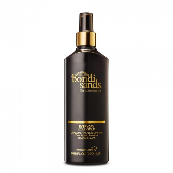 **2. Bondi Sands Everyday Liquid Gold Gradual Tanning Oil, $19.00 at Priceline.**   Bondi Sands have a *lot* of tanning products on the market and this could, quite possibly, be their best.