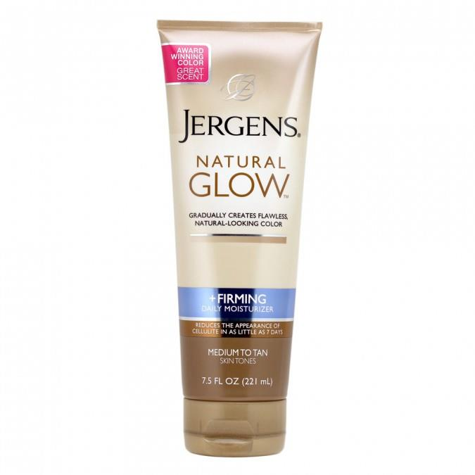 **4. Jergens Natural Glow Firming Daily Moisturiser, $14.99 at Priceline**.  This. Stuff. Is. The. Shit. Jergens Natural Glow Firming Daily Moisturiser will give you a natural glow and never, ever, ever streaks.