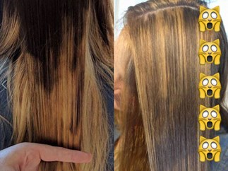 How to fix a botched balayage job