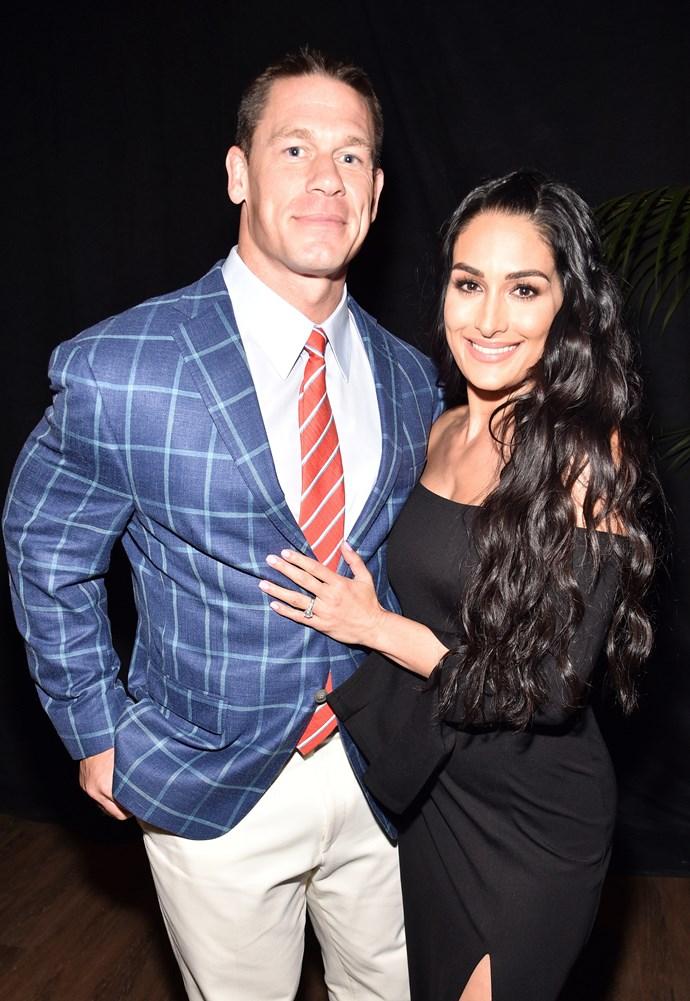 John Cena and Brie Bella