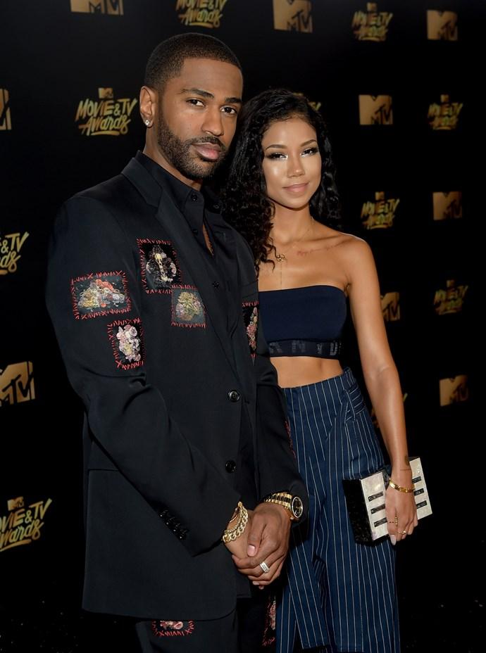 Big Sean and Jhene Aiko