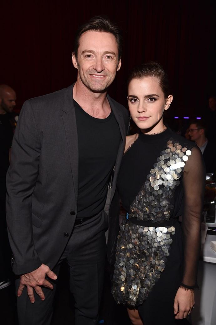 Hugh Jackman and Emma Watson