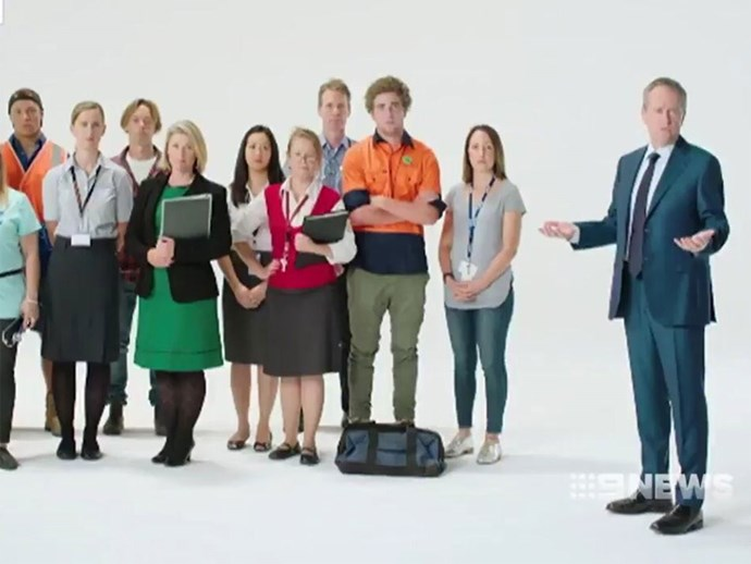 Labor Australians first campaign