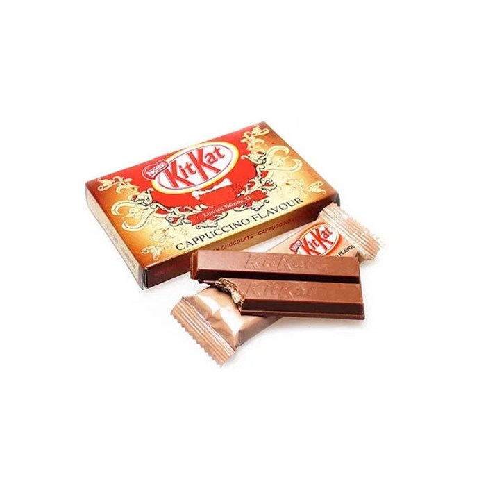 **Kit Kat Cappuccino** <br><br> This would be the ~ultimate~ 3 p.m. pick-up.