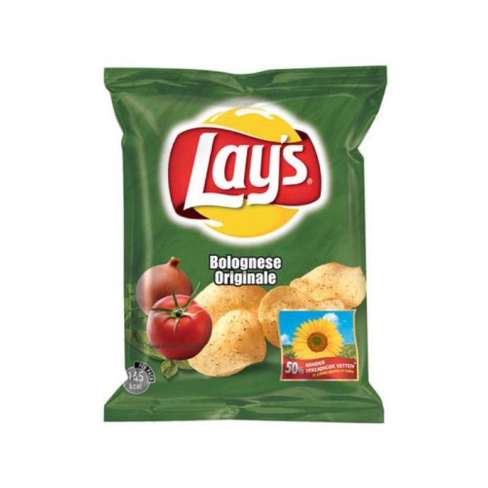 **Lay's Bolognese** <br><br> Could be rank or *delizioso*.