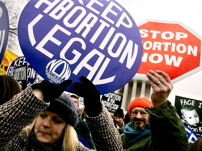 Abortion Protests Television