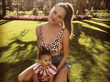 Former spray tan addict Chrissy Teigen reveals why she's stopped getting them
