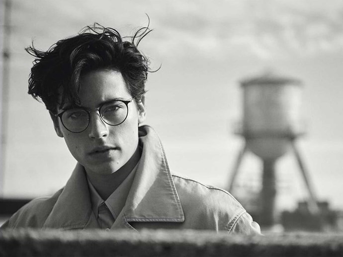 Um, can someone get Cole a Burberry contract pls? Like, NOW.
