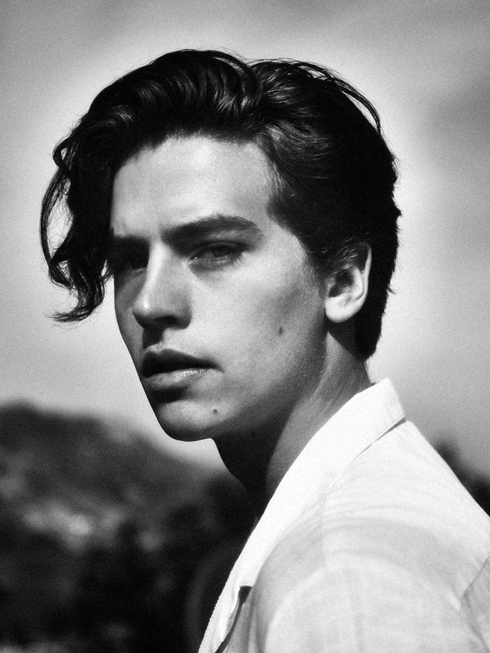 Cole's recently started to embrace his bad boi side and we're totally HERE FOR IT.