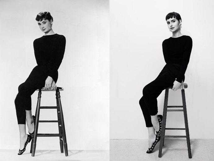 Living like Audrey Hepburn for a week