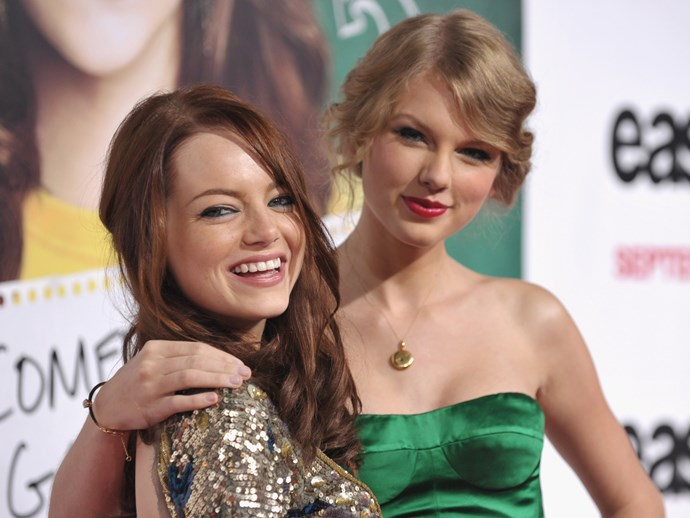 Emma Stone played cupid and set up Taylor Swift with her new man