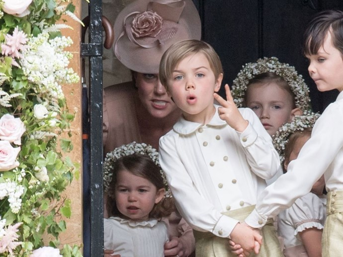pageboy swears pippa middleton's wedding