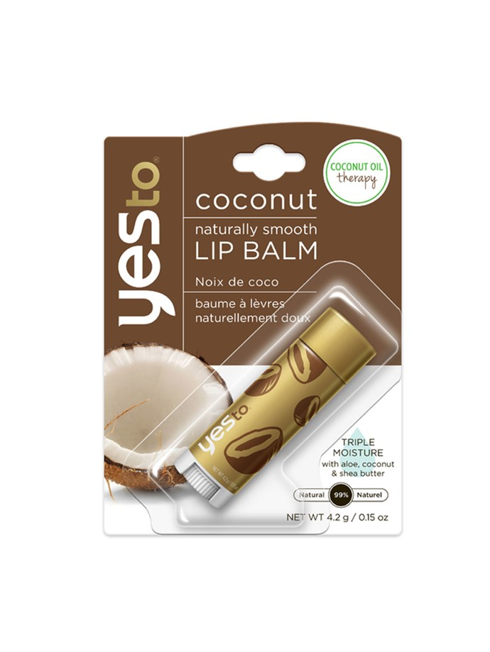 "**4. Outbound leg 1: Yes to Coconut Oil Therapy Lip Balm**   It's not just skin that gets dried out on planes, because HEYAAA CRACKED LIPS. At the higher-end of my lip-protecting arsenal was this little number. It's packed with essential oils, had a lovely herbal smell and a thick, clear, gel texture. Plus, it did it's job moisturising my lips. All I would say, is that the altitude or the NZ heat meant that by the time I got home, it had melted into what resembled olive oil. So one for cooler climes, I would suggest. [$7 AUD](https://www.hqhair.com/yes-to-coconut-naturally-smooth-lip-balm/11353858.html?affil=thggpsad&switchcurrency=AUD&shippingcountry=AU&thg_ppc_campaign=71700000010039335&gclid=Cj0KEQjw9YTJBRD0vKClruOsuOwBEiQAGkQjPykIqAMNXfomRiLoueLMroSgY5Z_l65z06TMs3GW7OkaAmQM8P8HAQ&gclsrc=aw.ds&dclid=CKOEx_LcgtQCFZsZKgodFeEO-Q|target=""_blank"")."