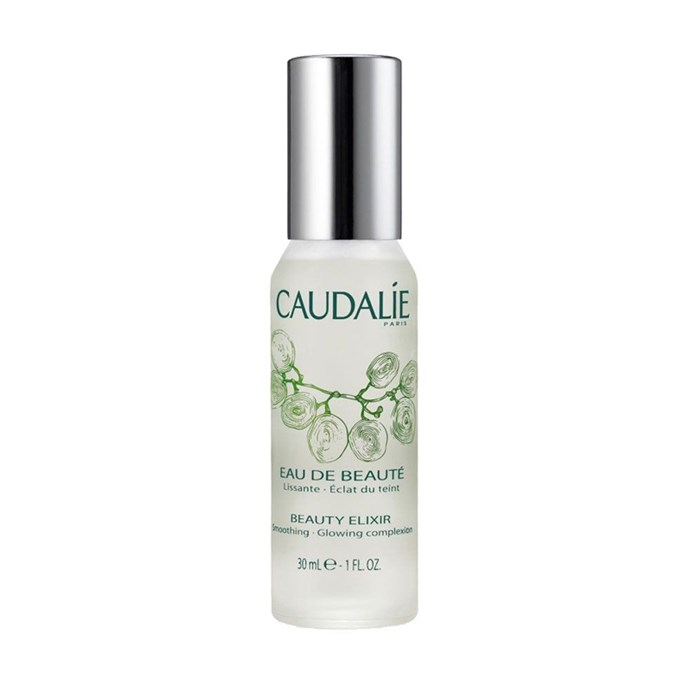 "**6.Outbound Leg 2: Caudalie Beauty Elixir**   My face is feeling hydrated af by this point, but I still haven't tried this mysteriously named 'Beauty Elixir'. I like its promise, though, so I spritz it on. OMFG I cannot describe how obsessed I am with this product. It smells as fresh as it makes your skin feel and is like an instant all-over-face wake-up call. I can't say it shrunk my pores or primed my makeup in any obvious way, but I can tell you it made my skin feel so damn good I will be buying more the second I run out. Which will be soon. [$21 AUD](https://www.sephora.com.au/products/caudalie-beauty-elixir/v/30ml?gclid=Cj0KEQjw9YTJBRD0vKClruOsuOwBEiQAGkQjP40Rt3n6eoad9s6NxavEhFfMKDdKUHEo0pIwP_d6tywaAkT28P8HAQ|target=""_blank"")."