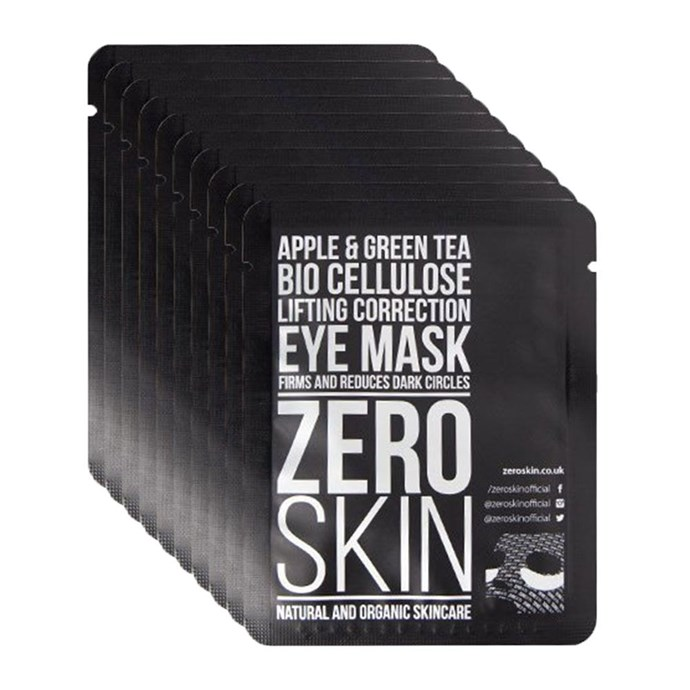 "**13. Inbound Leg 2: Zero Skin Apple & Green Tea Eye Mask**   Just before landing, I had time for one final eye mask. After 26 hours of travelling, there was no such as thing as too many masks. Trust me. Promising a ""firmer, brighter under eye area,"" I'd say it more than did the job, even if its effect on my dark circles wasn't quite as noticeable as the Elemis one. My eye area felt refreshed and moisturised. [$41 AUD for ten](http://beautybay.com/skincare/zeroskin/appleandgreenteaeyemask/