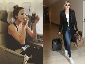 Beauty tips for flights