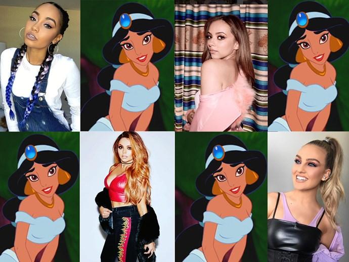 Little Mix Jade Thirlwall Princess Jasmine Aladdin