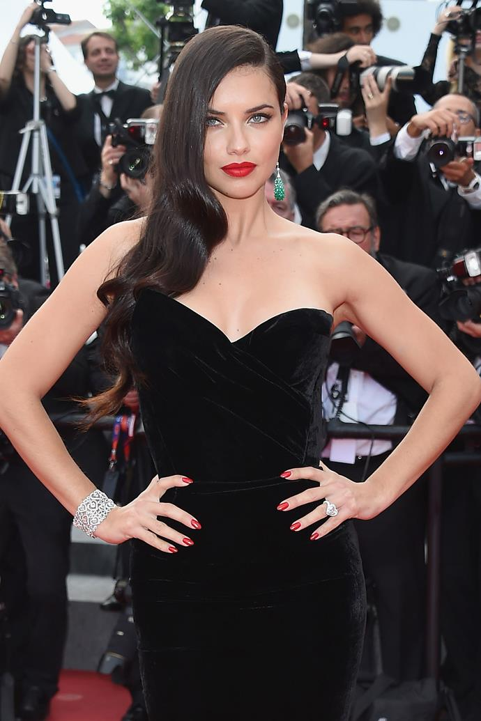 """**Adriana Lima**  The Victoria's Secret Angel is one of the most beautiful women on the planet, but she chose to abstain from sex until marriage because of her Catholic faith. """"They have to respect that this is my choice,"""" she told [*GQ*](http://www.gq.com/story/adriana-lima-virgin-underwear-model) in 2006 about dating. """"If there's no respect, that means they don't want me."""" She waited until she married her husband, Marko Jaric, and they have two daughters together, but are now separated."""