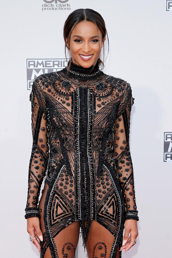 "**Ciara**  Ciara wasn't a virgin when she married her husband, Russell Wilson she already had a son, Future but she often spoke about how she and Russell were remaining celibate until they got married, to honour his Christian faith. ""No, it's not hard at all,"" she told [*People*](http://people.com/celebrity/ciara-on-abstaining-from-sex-with-boyfriend-russell-wilson/), despite saying earlier that it was a challenge. ""He's an awesome guy and a very confident guy. Just like I feel like I'm a woman that knows what I want, he's a man who knows what he wants."""