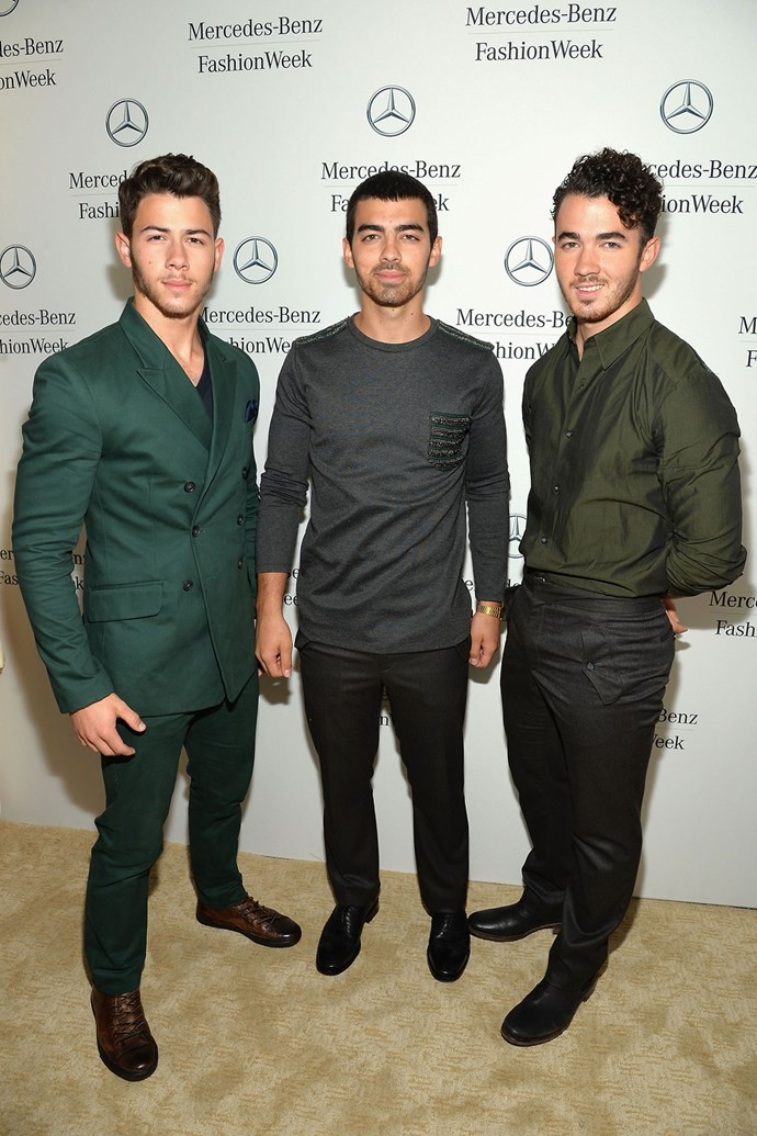 **The Jonas Brothers**  The Jonas Brothers famously wore purity rings when they were younger, and spoke about how they were saving themselves for marriage. While Kevin remained a virgin until he married his now-wife, Danielle, Nick and Jonas are famously not virgins anymore, and have talked pretty extensively about their sex lives.