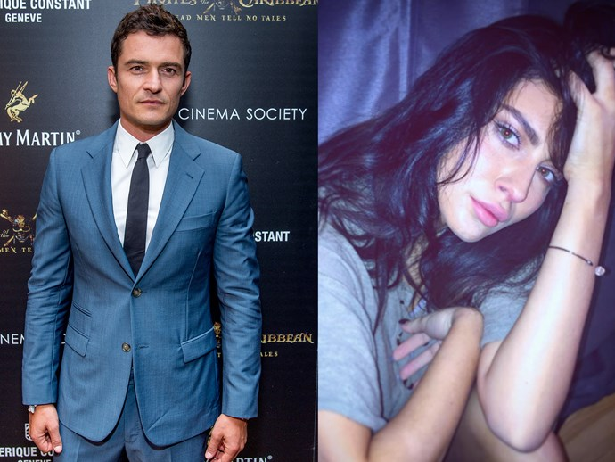 Orlando Bloom sleeps with waitress who got fired Viviana Ross