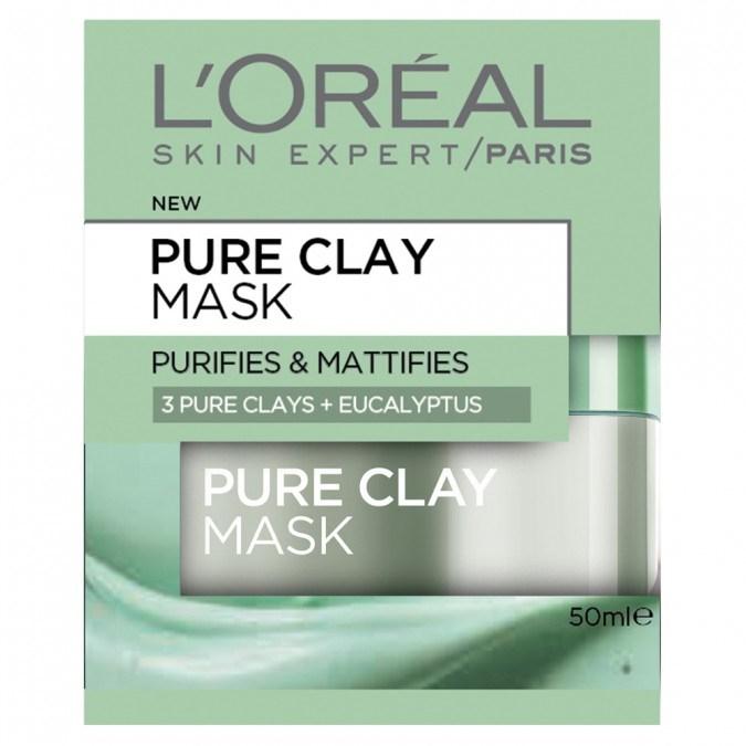 "L'Oreal Paris Purifying & Mattifying Eucalyptus Mask, $19.99 at [Priceline](https://www.priceline.com.au/l-oreal-paris-pure-clay-mask-purifying-mattifying-eucalyptus-mask-50-ml|target=""_blank"")"