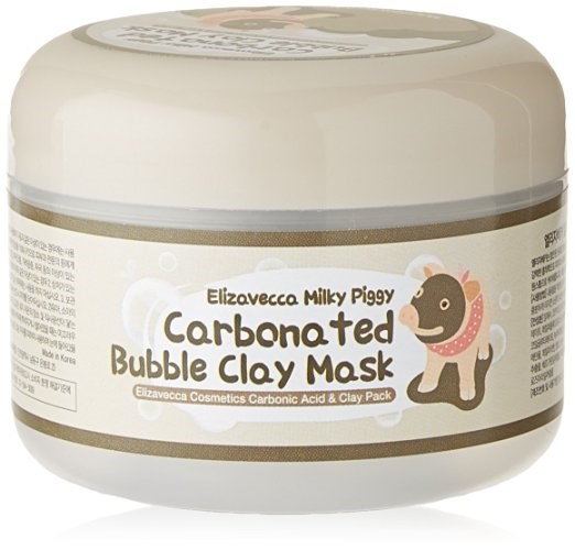 "Elizavecca Milky Piggy Carbonated Bubble Clay Mas, $10.80, at [Amazon](https://www.amazon.com/Elizavecca-Milky-Piggy-Carbonated-Bubble/dp/B00MWI2IS0?th=1|target=""_blank"")"
