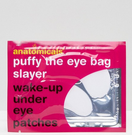 """**The Eye-Bag Slayer**  Anatomicals Puffy The Eye Bag Slayer Wake-Up Under Eye Patches, $12, at [Asos](http://www.asos.com/au/anatomicals/anatomicals-puffy-the-eye-bag-slayer-wake-up-under-eye-patches/prd/3355616?iid=3355616&clr=Puffy&SearchQuery=face%20masks&pgesize=9&pge=2&totalstyles=81&gridsize=3&gridrow=2&gridcolumn=2