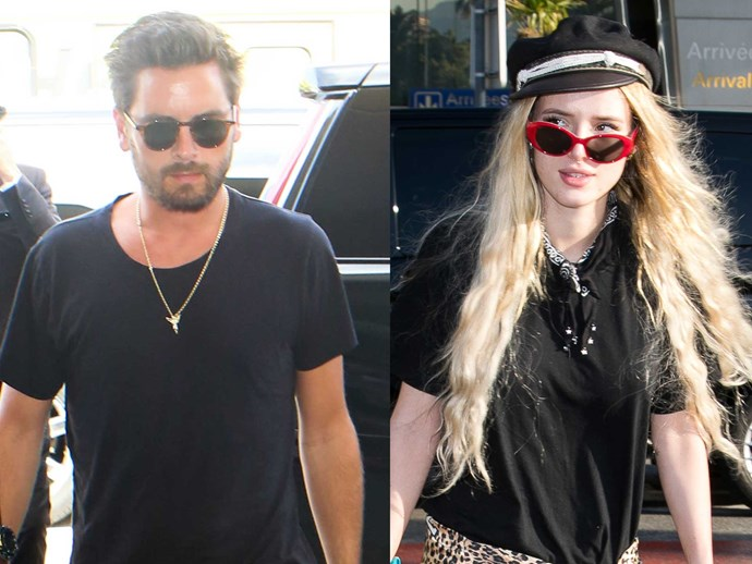 Scott Disick Bella Thorne Sofia Richie