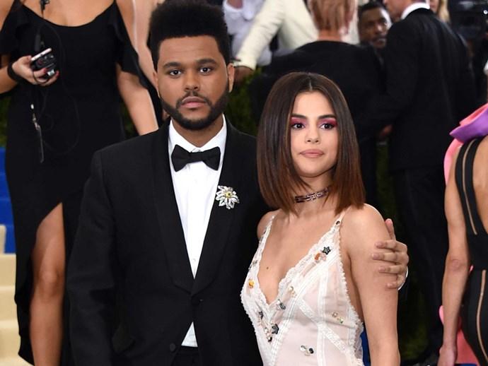 Selena Gomez The Weeknd Split