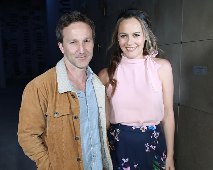 **Clueless**  Alicia Silverstone (Cher) and Breckin Meyer (Travis) had a mini *Clueless* reunion when they surprised fans at a special screening of the movie in L.A.