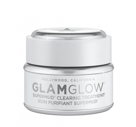 "And she always has time for a weekly mask.   GlamGlow SuperMud Clearing Treatment, $93.42, at [GlamGlow](http://www.glamglow.com/product/15141/39399/shop-treatments/supermud/SUPERMUD-CLEARING-TREATMENT?gclid=COjGp4X0iNQCFU5kNwodqA4OIg&gclsrc=ds&cm_mmc=Linkshare-_-TnL5HPStwNw-_-1-_-10|target=""_blank"")."