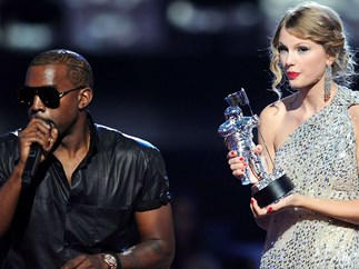 kanye west taylor swift 2009 vma