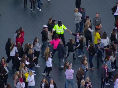 Dancing policeman who gave us all the feels at One Love Manchester speaks out