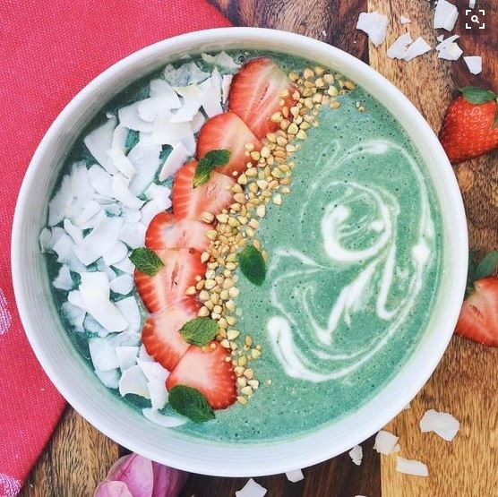 Does a mermaid bowl count for two servings of fruit? *We think it should...*