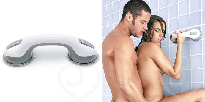 Sex in the Shower Dual Locking Suction Handle, $29.95 from [Lovehoney](https://www.lovehoney.com.au/product.cfm?p=16715)
