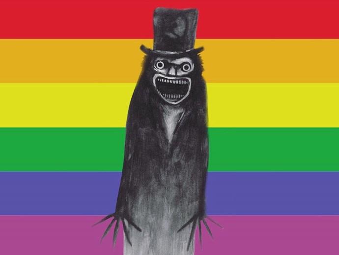 babadook rainbow