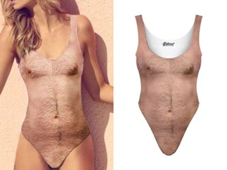 This 'sexy chest' swimsuit is 3000% wack