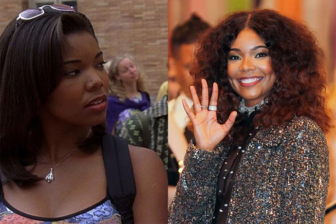 **Gabrielle Union aka Chastity**  Gabrielle had some great lines in this film as Chastity, Bianca's backstabbing Best friend, but she also went on to an iconic role in Bring It On. She's now married to American basketballer Dwyane Wade.